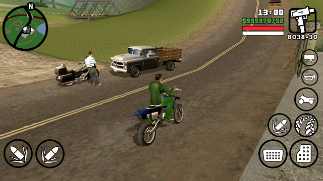 GTA San Andreas Lite v7 Android Apk + Data Download