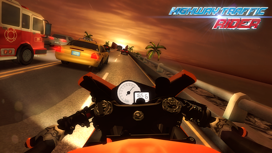 Highway Traffic Rider Apk Download DroidApk.org (3)