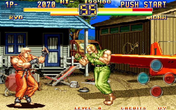 Art of fighting 2 Apk Download DroidApk.org -min