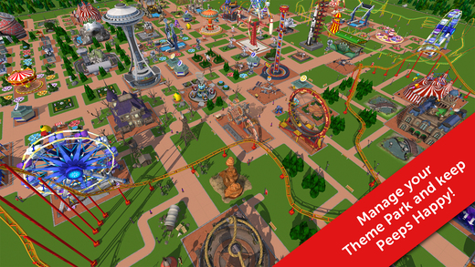 RollerCoaster Tycoon Touch MOD APK Download DroidApk.org (1)
