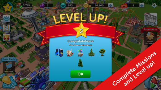 RollerCoaster Tycoon Touch MOD APK Download DroidApk.org (5)