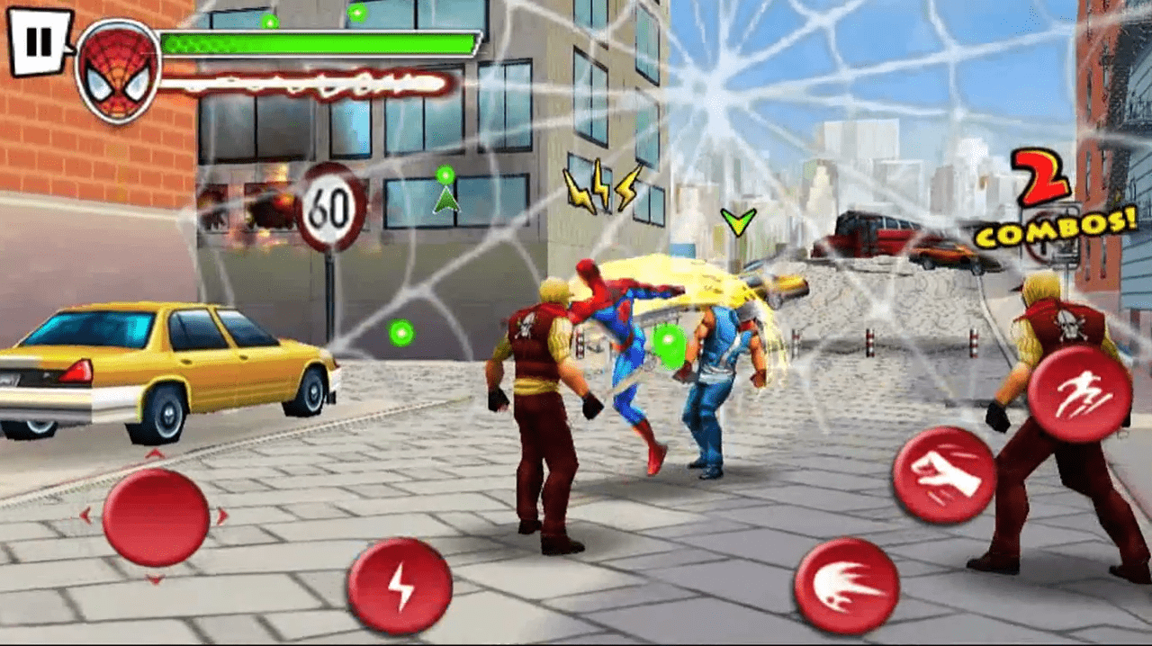 Ultimate Spider-Man Total Mayhem HD apk para Android Descarga juego