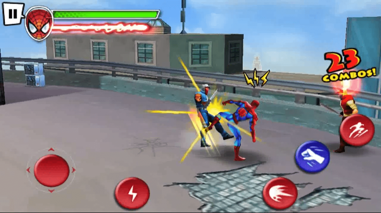 Ultimate Spider-Man: Total Mayhem APK + DATA HD (ALL FIX